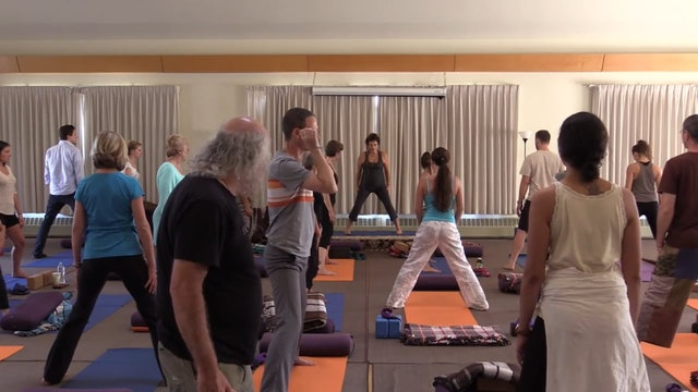 Mt Madonna Session 8 - yoga