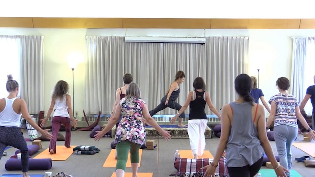 Mt Madonna Session 20 - yoga