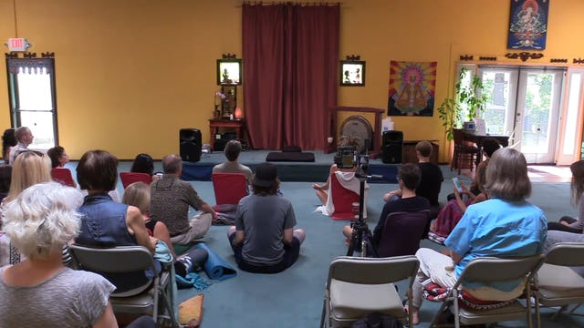 Season 1, Session 5 - Meditation with Bentinho - 6-10-17