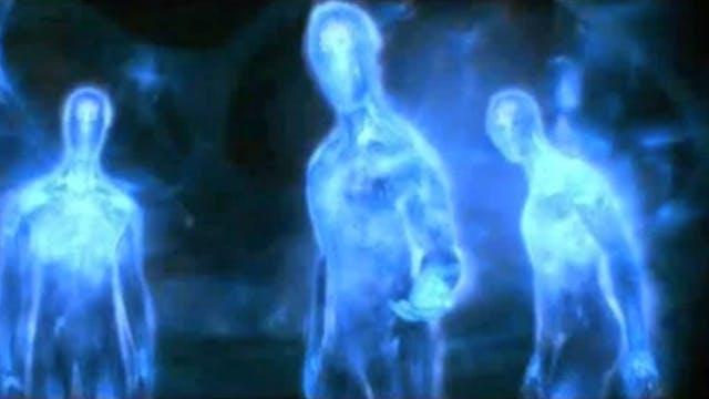 Blue White Light meditation
