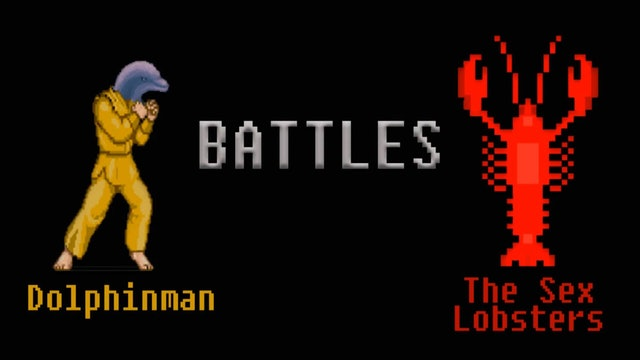 Dolphinman Battles The Sex Lobsters
