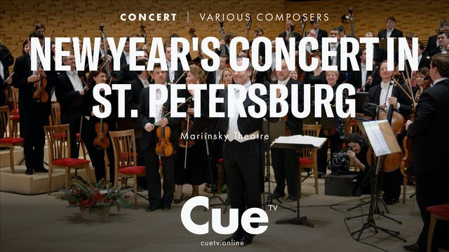 New Year's Concert in St. Petersburg