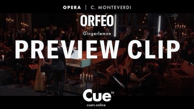Claudio Monteverdi: Orfeo - Trailer
