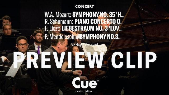Mozart: Symphony No. 35 Haffner; Schumann: Piano Concerto; Liszt - Preview clip