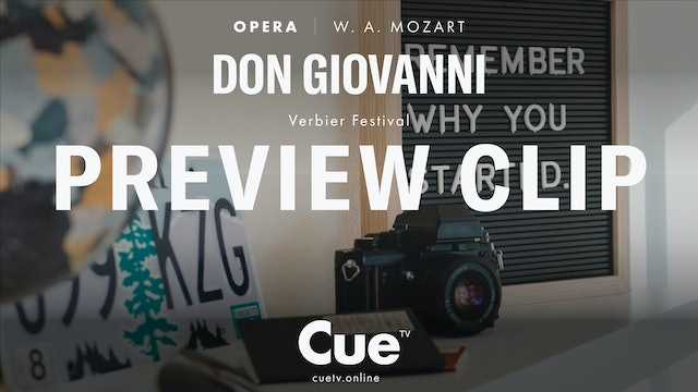 Verbier Festival 2009: Highlights from Don Giovanni - Trailer