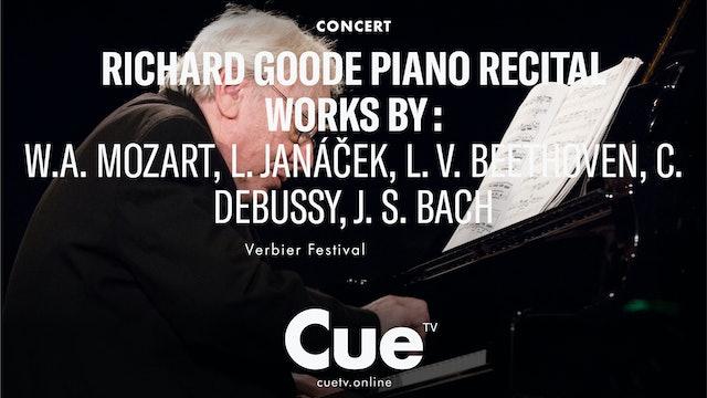 Richard Goode Piano Recital Works by W.A. Mozart, L. Janáček, L. v. Beethoven