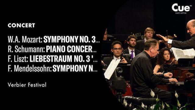 Mozart: Symphony No. 35 'Haffner'; Schumann: Piano Concerto; Liszt