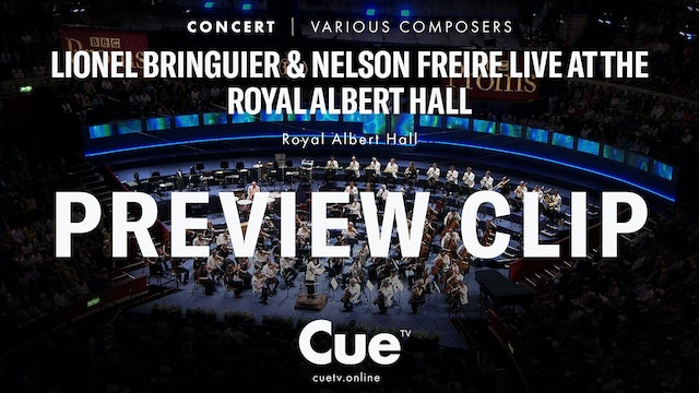 Lionel Bringuier & Nelson Freire Live at the Royal Albert Hall - Trailer