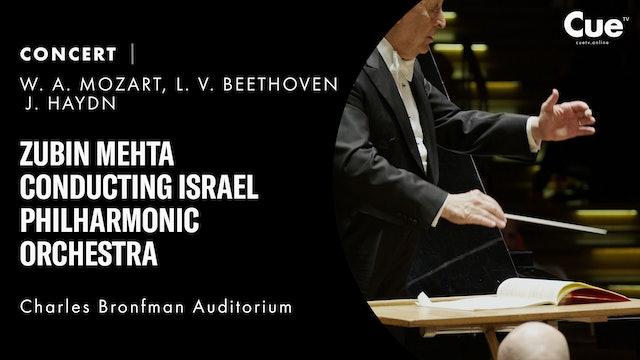 Zubin Mehta conducting Israel Philharmonic Orchestra