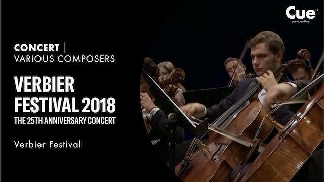 Verbier Festival 2018 - Verbier 25th anniversary concert 45' (selection)