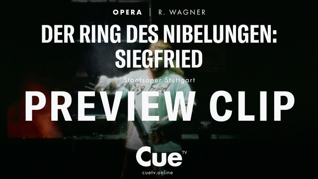 Der Ring des Nibelunge: Siegfried - Trailer
