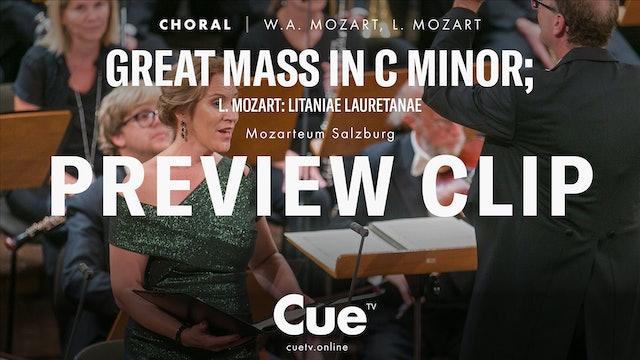 Great Mass in C Minor; L. Mozart: Litaniae Lauretanae - Preview clip