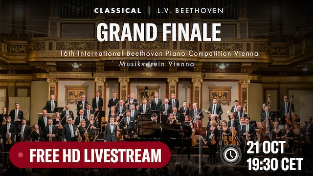 16th International Beethoven Piano Competition Vienna: Grand finale