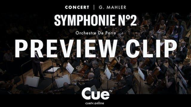 Orchestre de Paris Mahler II - Previe...