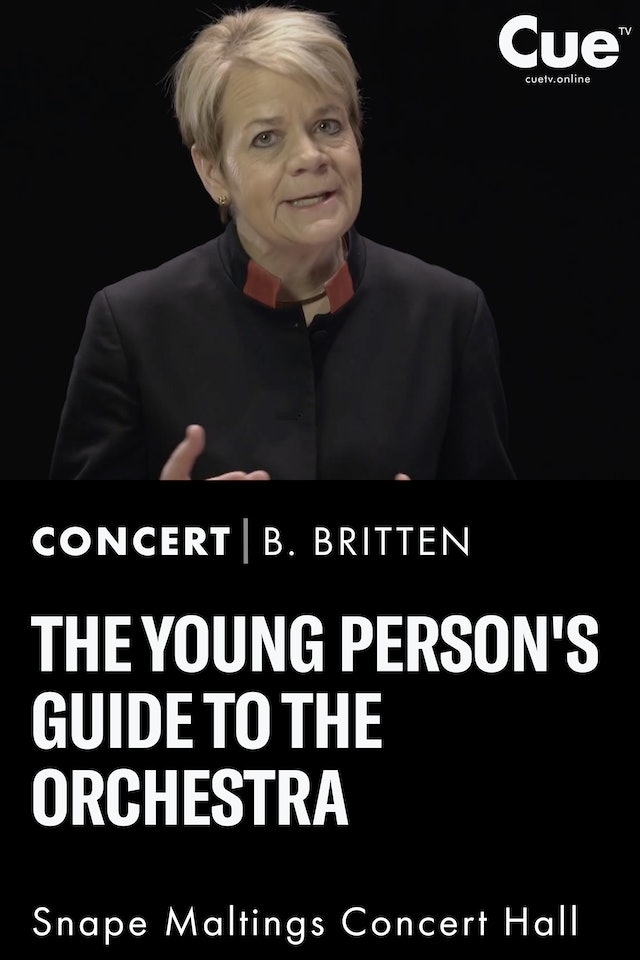 The Young Person's Guide To The Orchestra (Text adapted by Marin Alsop)