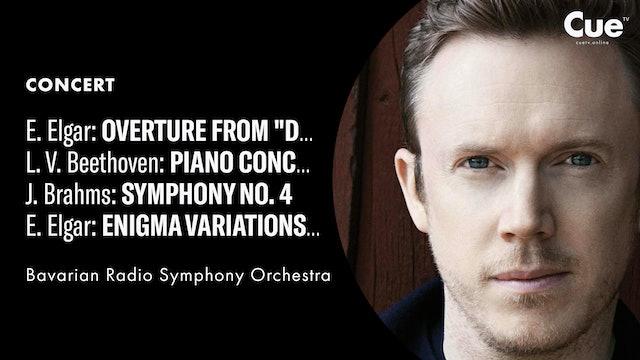 Dream of Gerontius - Prelude; Beethoven: Piano Concerto No. 2; Brahms: Symphony