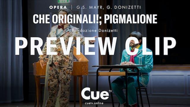 Che originali!; Pigmalione - Trailer
