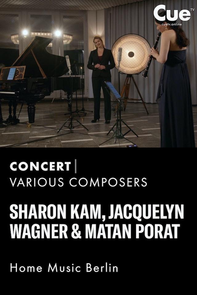 Rhapsodie; Brahms: Clarinet Sonata No. 2