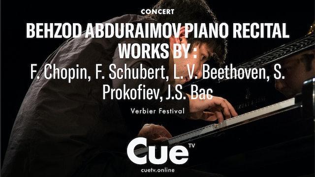 Chopin: Ballade No. 1; Schubert: Moments Musicaux; Beethoven: Piano Sonata