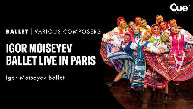 Igor Moiseyev Ballet Live in Paris