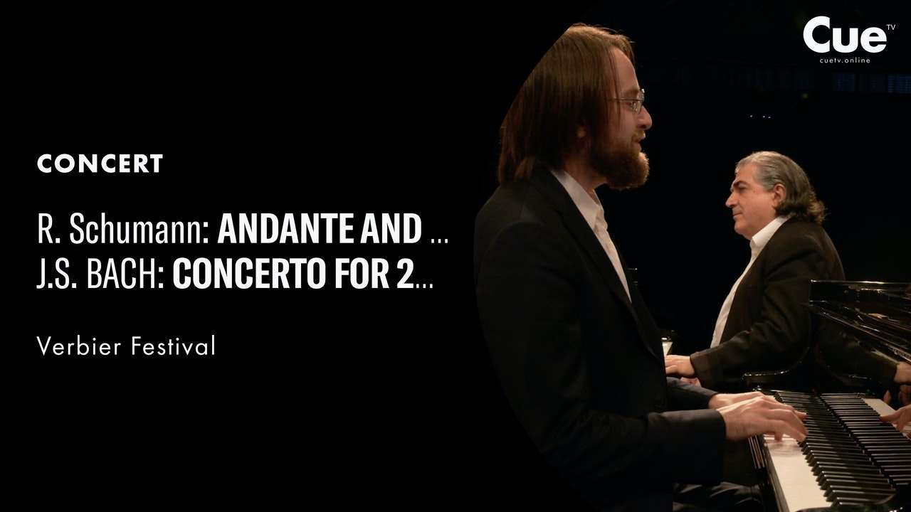 Andante & Variations; J.S. Bach: Concerto for 2 Keyboards BWV1062 (Verbier 2019)