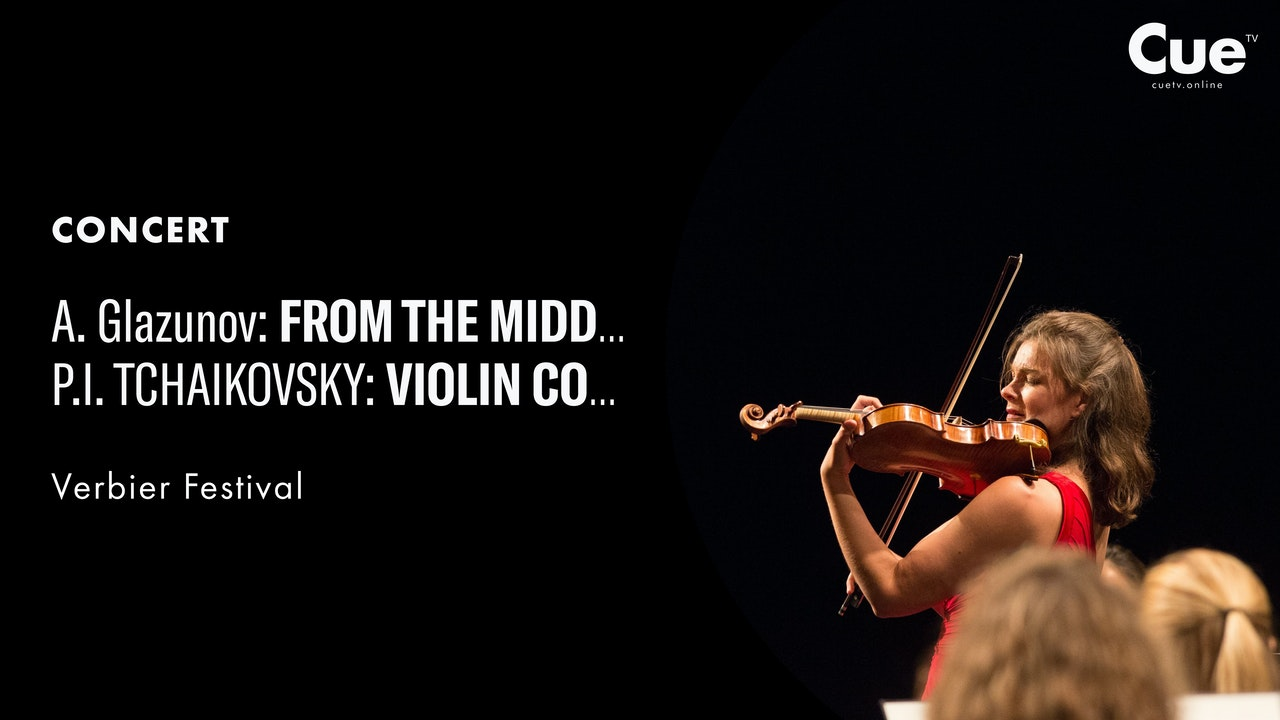 Glazunov: From the Middle Ages; Tchaikovsky: Symphony No. 4; Violin Concerto