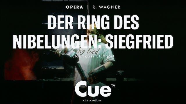 Der Ring des Nibelungen: Siegfried