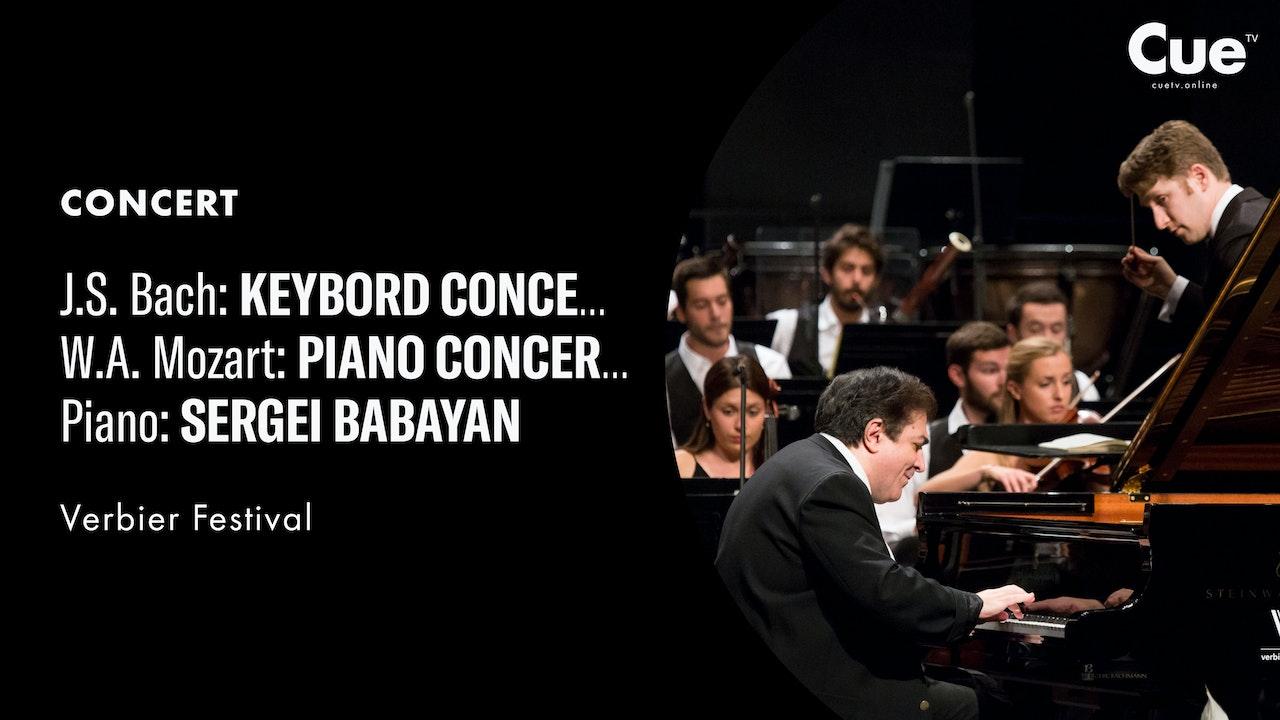 J.S. Bach: Keybord Concerto No. 1 in D Minor; W.A. Mozart: Piano Concerto No. 25