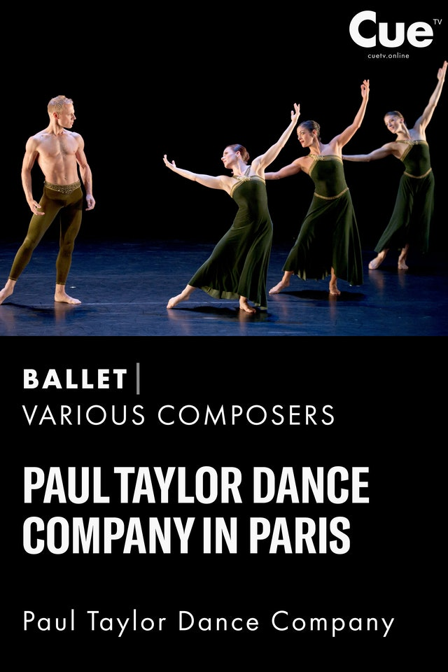 Paul Taylor Dance Company in Paris