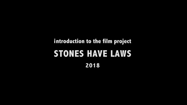 Stones Have Laws - Artists' Introduction