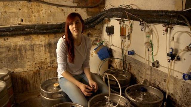 Still: Keelta Smiling on Barrels
