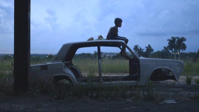 Still - Leonel Antun on a car