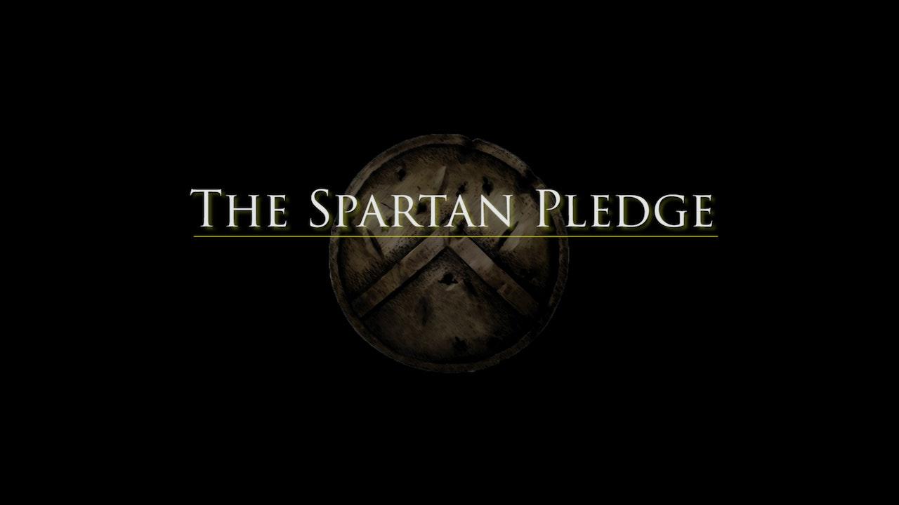 The Spartan Pledge Blurred