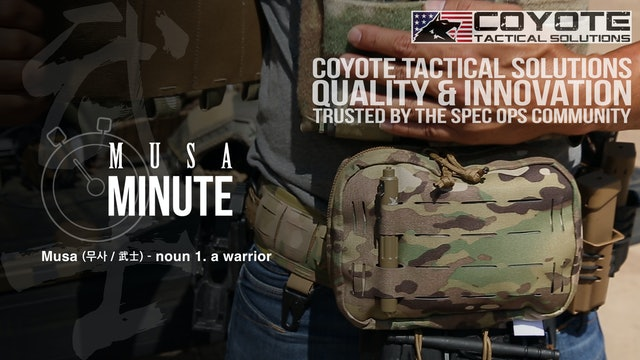 Musa Minute: Coyote Tactical Solutions