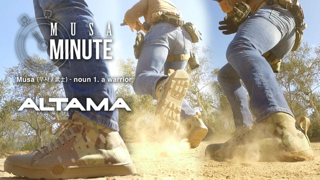 Musa Minute: Altama Shoewear