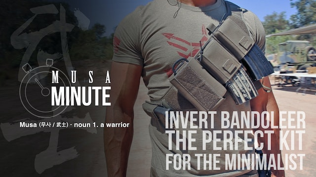 Musa Minute: IC13 Inverted Bandoleer