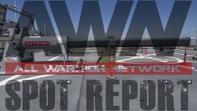 Spot Report: Naval EM Railgun