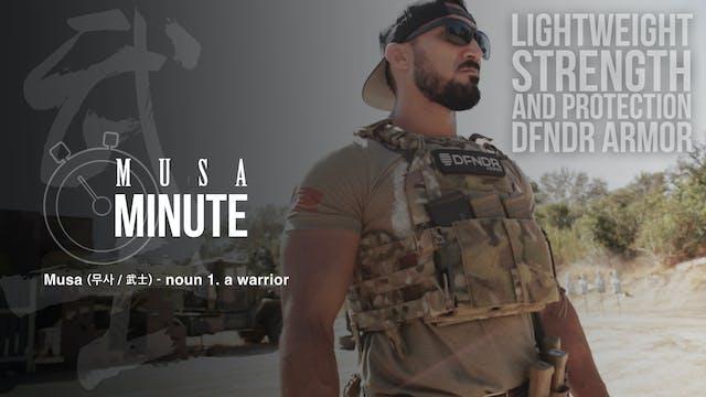 Musa Minute: DFDNR Armor