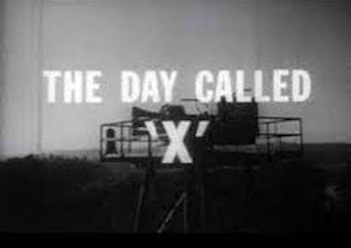A Day Called X 1957