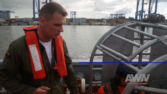 NATO on Duty - Ep 22. Underwater Escape in the Baltic Sea