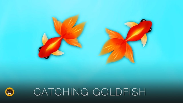 Fish Game for Cats - Goldfish