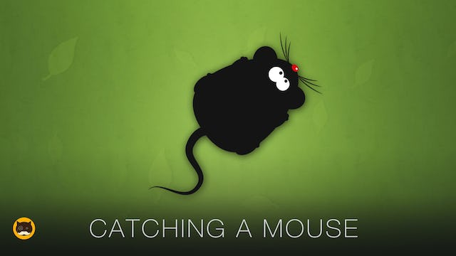 Mouse Video for Cats to Watch - Catching a Mouse