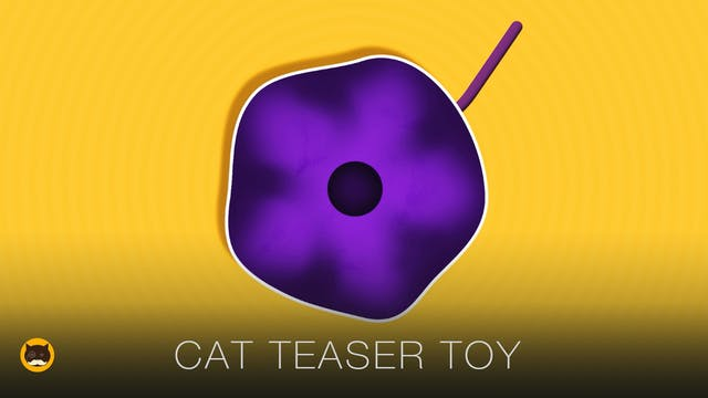 Games for Cats - Cat Teaser Toy