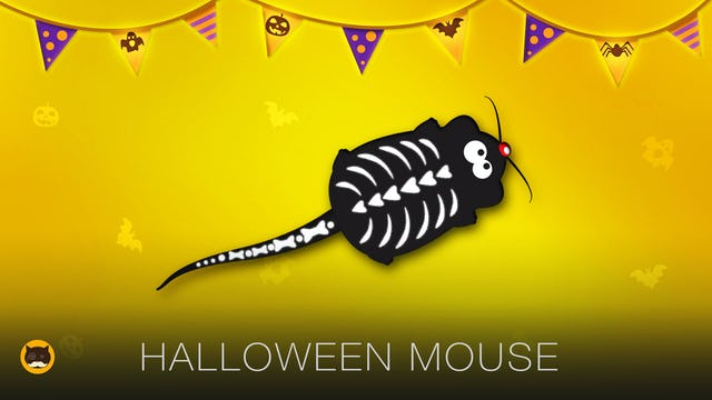 Mice Video for Cats - Halloween Mouse