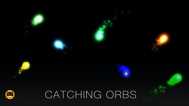 Cat Games - Catching Orbs