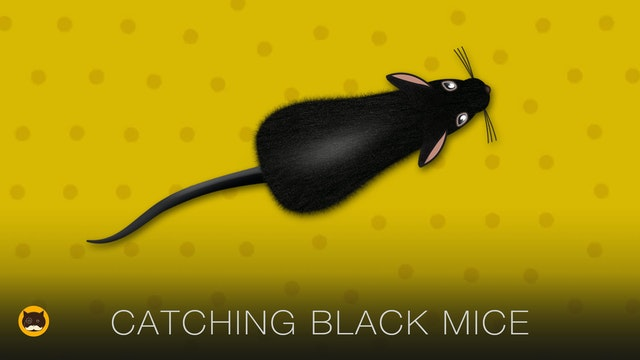 Cat Games - Catching Black Mice