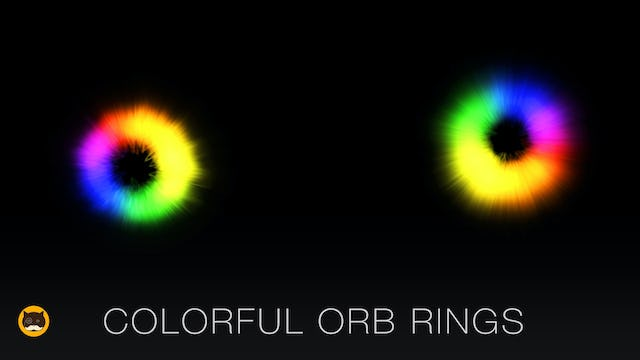 Cat Game - Colorful Orb Rings
