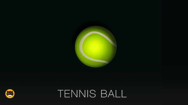 GAME FOR DOGS AND CATS - Tennis Ball. Video for Dogs and Cats