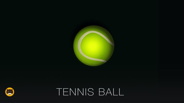 GAME FOR DOGS AND CATS - Tennis Ball....