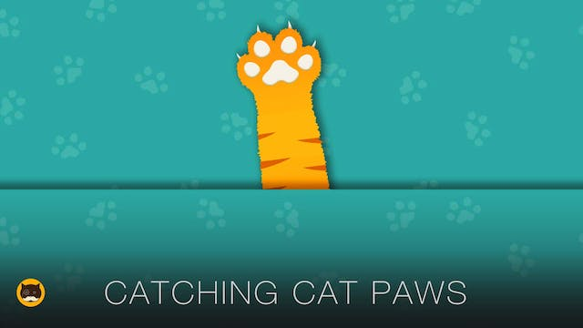 Games for Cats - Catching Cat Paws